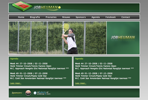 Job Heijman Tennis by MH-Design