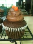 Chocolate Peanut Butter Cup Cupcake by Mat-Mat
