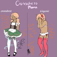 Jakiel Crossdress meme by GingerQuin