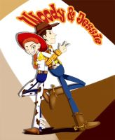 Woody and Jessie Combo by lizbomb
