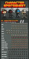 Spec-Ops Character Sprites by pzUH