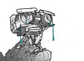 Johnny 5 is alive by ACTUAL-DOG