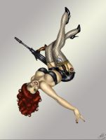 Black Widow color by Fatboy73 by lovelyzitalee