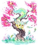 Leafeon's Petals by Meep-and-Mushrat