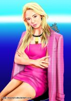 Hyoyeon Digital Painting 36 by BoAism