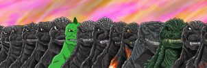 The Legacy of The Big G by kaijukid