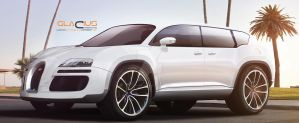 Bugatti Veyron SUV by Glacius-Projects