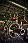 Me at Fulton Gas Works 1 by fizzle017