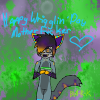 Happy wriggling day by BL1ND-PR1NCE
