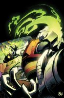 Transformers MTMTE #3 cover colors by khaamar