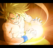 DBZ_son goku by OJanSan