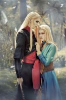Nuala and Nuada by Hidory