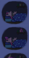 Twilight Reading by paper-pony