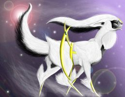 Arceus by chicken-stalker