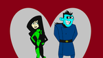 Kim Possible - Drakken and Shego by kbinitiald