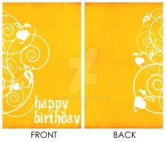 Birthday Card by yoshk