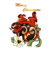 Merry Christmas by Schattencyra