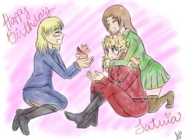 Happy Birthday Latvia by NamiOki