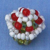 Beaded Cupcake 2 by Craftcove
