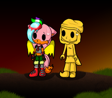 PC: Strawberry and Stephano by SparDanger