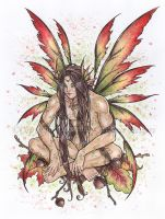 Leaves of wisdom by delphineart