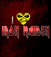 I LUV IRON MAIDEN by MinaElvis