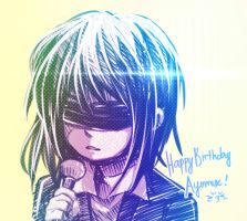 Happy Birthday Ayumux! by 0Jichan