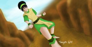 Toph Beifong by toojes
