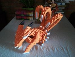 Origami Fox by kamui487