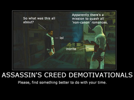 Assassin's Creed Demote by SydneyPrimal