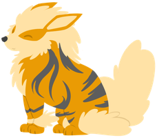 Arcanine by Toasterbots
