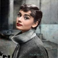 Audrey Hepburn 1953 by klimbims