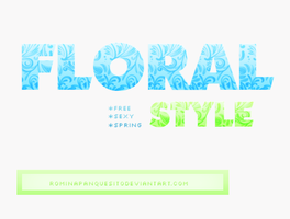 Floral style   ASL Download. by Rominapanquesito2