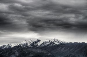 Dark Clouds On Eternal Snow by Roswell51