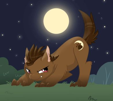 Werewolf Pony by ParfyWarfy