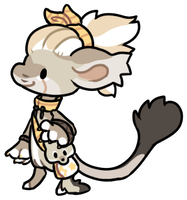 [GIFT] Chilla fox bagbean sticker by Ayinai