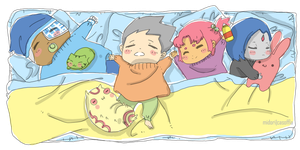 Nap Time for Tiny Titans by Midori2501Aikou