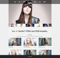 beu - Beauty HTML5 - CSS3 Template by Der-Alter-Mann