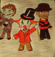 Horror Chibis by Criss-Angel-lover