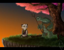 Visiting_Oogway by leaderofmoonclan