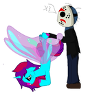 chibi jason catch farytail D8 by Maniactheleader