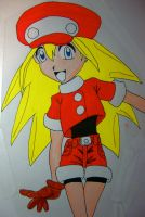 Roll from Mega Man Legends by Johnny-Lively