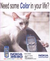 nokia cat ad by omegaseraphx