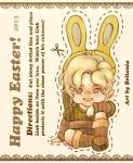 Link Cut Out Easter Card by MissGoldeeLocks