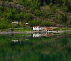 Sailing the fjords to Skjolden 46 by abelamario