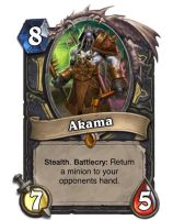 Akama card concept (updated) by SnowingGnat