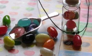 Jelly Bean Charms by MandaBeads
