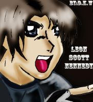 leon s kennedy gone through photoshop by danycamaleon