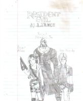 Resident Evil Alliance by lucarionaruto