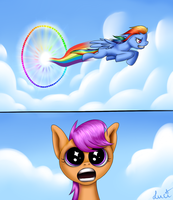 Sonic Rainboom by Lantaniel